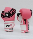 PRO GEAR TRAINING GLOVES (PINK)